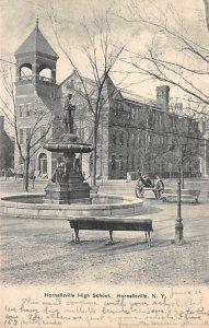 Hornellsville high school Hornellsville, New York, USA D.P.O. , Discontinued ...