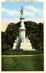 PA - Gettysburg. Soldier's National Monument