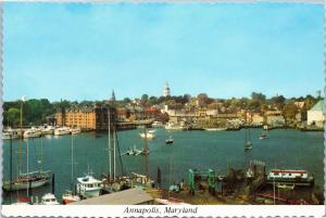Annapolis, Maryland - view from Eastport across Spa Creek