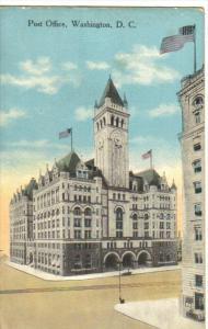 WASHINGTON D.C., 1900-1910's; Post Office
