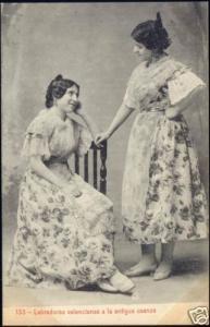 spain, VALENCIA, Labradoras a la Antigua Usanza (1910s)
