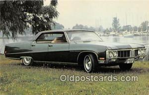 Redlands, CA, USA Postcard Post Card 1970 Buick Electra 225 Custom 4 Door Ha...