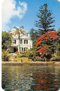 Poinciana tree, Bermuda House Bermuda 1961