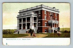 Manchester NH-New Hampshire Masonic Home Vintage Postcard
