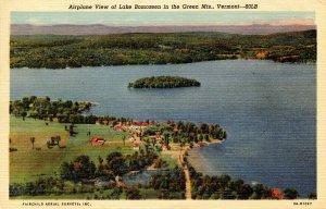 VT - Lake Bomoseen. Airplane View