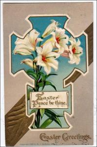 Easter Card with Cross