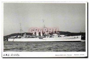 Postcard Old Boat HMs Sussex