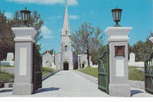 Entrance to St. James Church,  Hamilton,  Bermuda,  40-60s