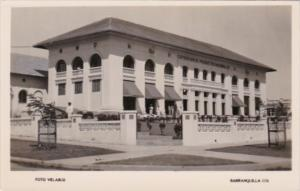 Colombia Barranquilla National Products Exposition Building Real Photo