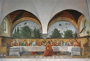 Firenze Domenico Ghirlandaio, Ultima Cena, Last Supper, Derniere Cene