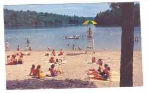 Swimming,Table Rock State Park, South Carolina, 40-60s