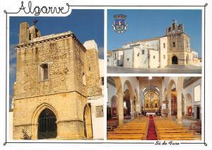 Portugal Algarve Se de Faro Church Interior view