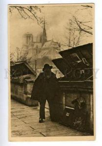 158252 France PARIS Oldest BOOK DEALER Vintage postcard