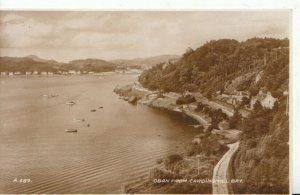 Scotland Postcard - Oban From Cardingmill Bay - Argyllshire - RP - Ref 8337A