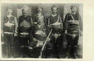 turkey, Zeybek Militia Major Danişmentli İsmail Efe, Aydın, Kuva-yi Milliye RPPC