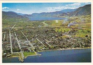 Canada Aerial View Penticton British Columbia