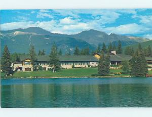 Unused Pre-1980 LODGE SCENE Jasper Alberta AB c5079