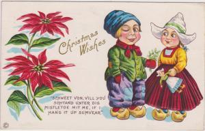 CHRISTMAS: Dutch Kids , PU-1915