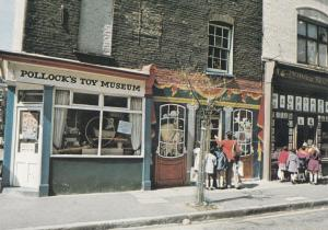 Pollocks Toy Museum Theatrical Printers Shop London Postcard