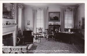 New York Hyde Park The Study The Roosevelt Home Franklin D Roosevelt National...