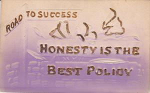 Road to Success: Honesty is the Best Policy, Glitter detail, 00-10s