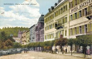 Czech Republic Marienbad Partie beim Hotel Klinger 02.53