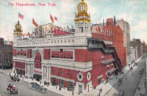 The Hippodrome, New York City, N.Y., Early Postcard, Unused