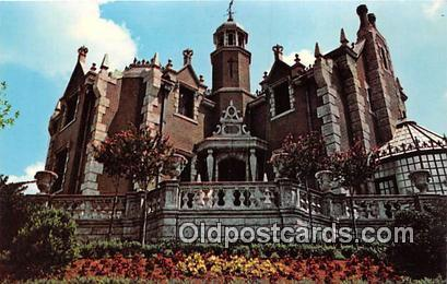 Haunted Mansion Walt Disney World, FL, USA Postcard Post Card Walt Disney Wor...