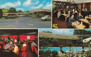 MEMPHIS, Tennessee, 1940-1960's; Multipe Views of Holiday Inn, Swimming Pool,...