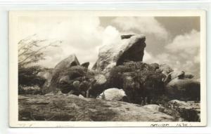 aruba, N.W.I., Rock Formation (1930s) RPPC
