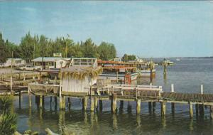 CORTEZ, Florida; Docks st the Fishing Village, 40-60s