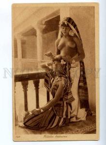 190561 NUDE harem girls Vintage Lehnert & Landrock postcard