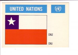 Chile, Flag, United Nations