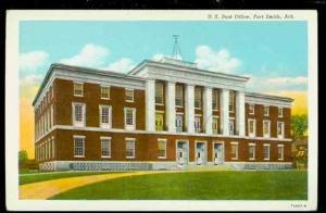 AR, Fort Smith, Arkansas, Post Office, S & S. New Agency