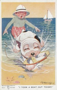 Studdy ; Bonzo the Dog , I Took a Boat Out Today 1910s