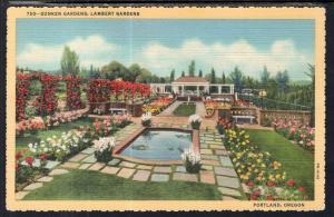 Sunken Gardens,Lambert Gardens,Portland,OR