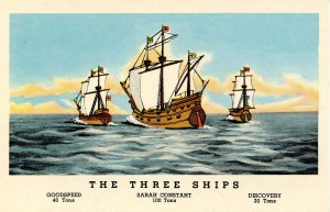 The 3 Ships that Sailed from England to Jamestown in 1607