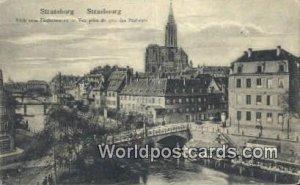 Blick vom Fischerstaden Strassburg Germany Unused