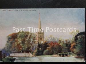 Vintage Tucks Oilette, The Holy Trinity Church, Stratfod on Avon