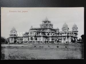India: Jaipore, Edward's Hall, Old Postcard