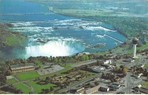 Canada Ontario Niagara Falls Aerial view Panorama