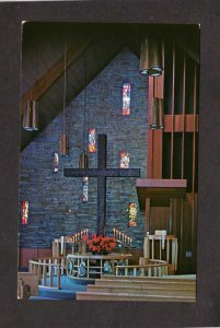 IL Southlawn Community Methodist Church Interior Chicago Illinois Postcard