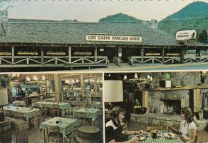 GATLINBURG , Tennessee , 50-70s ; Log Cabin Pancake House