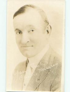 rppc Pre-1929 Charlie Murray FAMOUS SILENT FILM MOVIE ACTOR AC8337