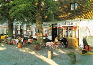 Netherlands Sluis (Holland) Cafe Restaurant, terrace
