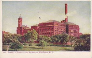 Washington DC Bureau Of Printing And Engraving