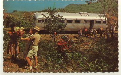 RR KINGSTON JAMAICA GOVERNORS COACH Postcard