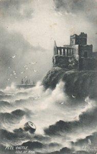 ISLE OF MAN, PU-1904; Peel Castle