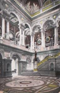 Washington D C Carnegie Library Hallway 1909