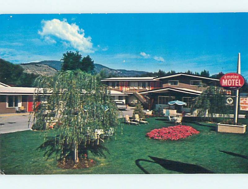 Pre-1980 EMPIRE MOTEL Penticton British Columbia BC o0649